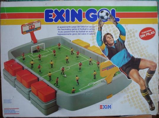 juguete exin gol
