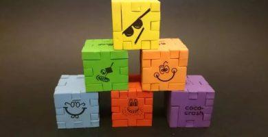 coco crash happy cube