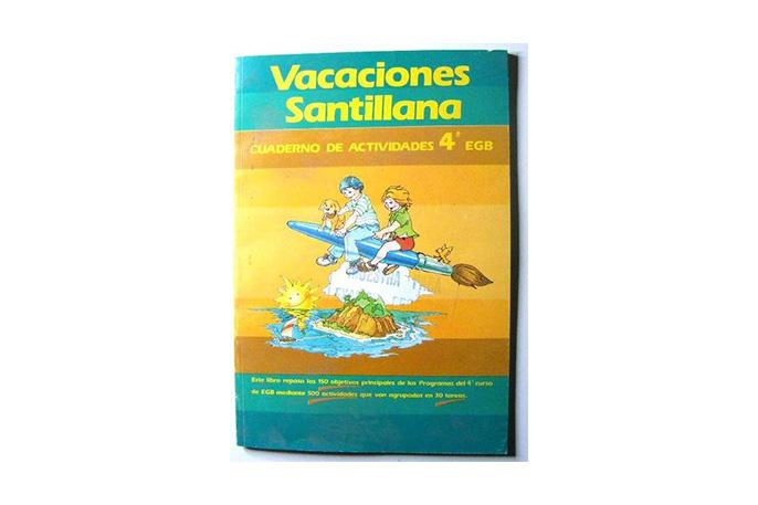 libro vacaciones santillana