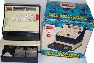 Caja registradora para jugar a tiendas