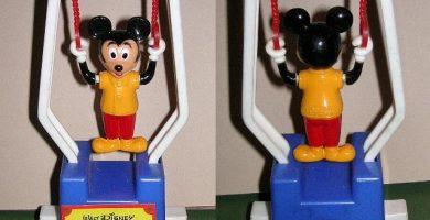 muñeco trapecista