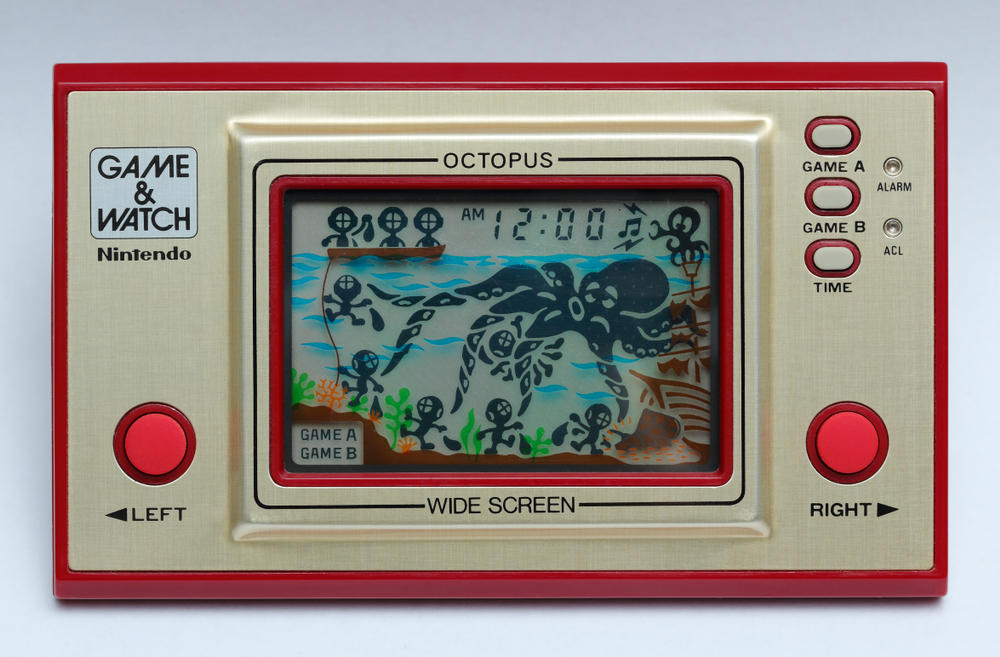 game & watch años 80