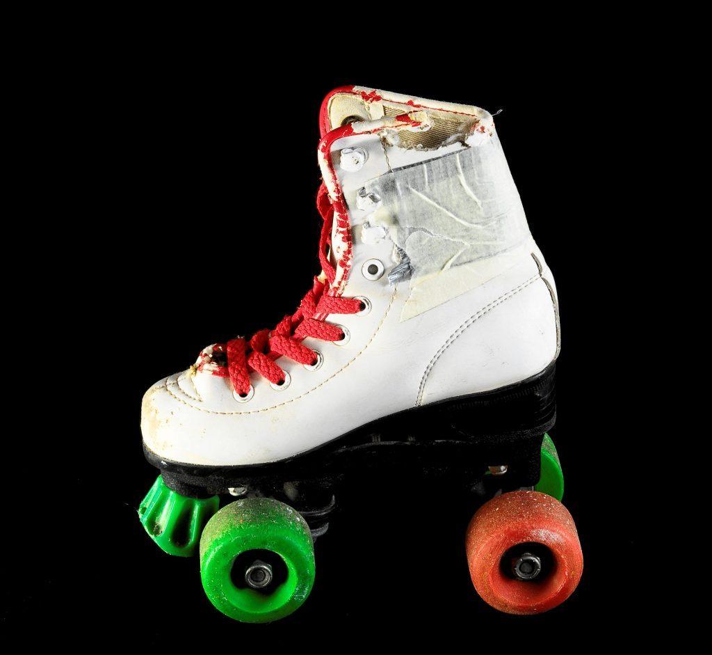 patines de bota blanca roller