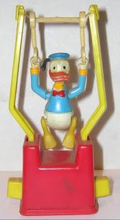 muñeco trapecista equilibrista