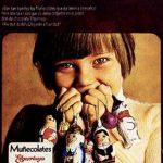 anuncio muñecolates años 80 elgorriaga