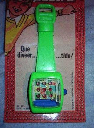 reloj de juguete