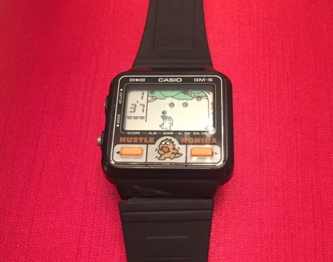 reloj game and watch