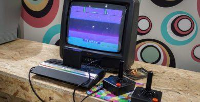 Ordenador Atari años 80