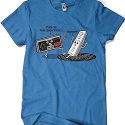 The Eighties NES camiseta retro