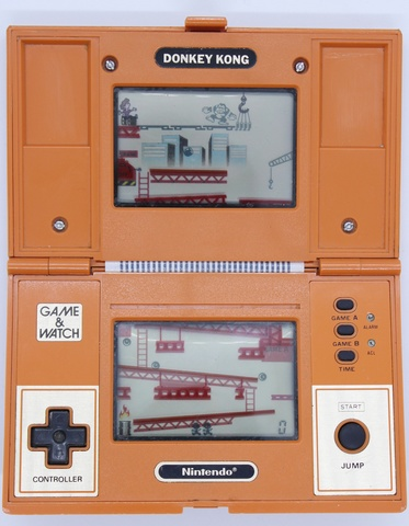 game & watch nintento doney kongo