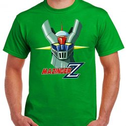 camiseta retro de mazinger z