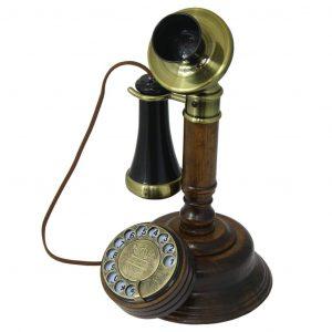 teléfono de estilo vintage clásico retro