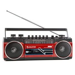 radio cassette de estilo retro