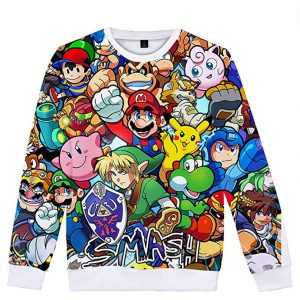camiseta manga larga super mario