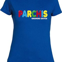 camiseta retro del grupo parchis
