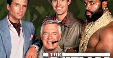 el equipo a serie de televisión de los años 80