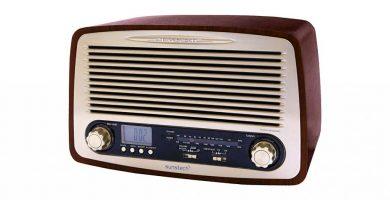 radios de estilo vintage y retro