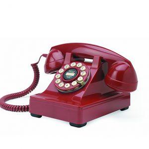 teléfono clásico estilo vintage