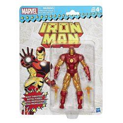 iron man figura retro