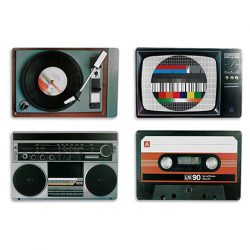 set manteles retro individuales