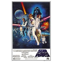 poster retro star wars