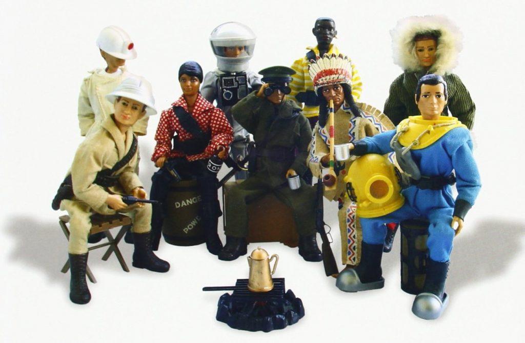 diferentes muñecos madelman
